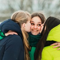 Девочки :: Анастасия Чеснокова