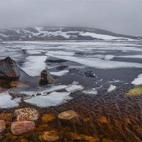 Озеро Лапьявр в июне :: Альберт Беляев