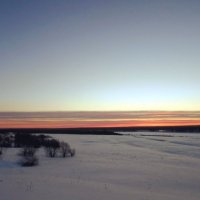 Простор зимнего утра :: Николай Туркин