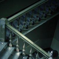 Девушка на лестнице :: Ольга (Кошкотень) Медведева