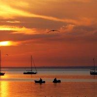 Вечер Азовское море Бердянск :: Нилла Шарафан