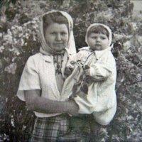 С племянницей. 1957 год :: Нина Корешкова