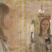 ....и ЭТО зеркало мне льстит.... :: Tatiana Markova