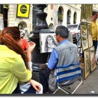 На улицах Барселоны. :: Leonid Korenfeld