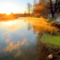 Золотые рассветы декабря... :: Андрей Войцехов