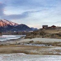 Рассвет над Чемалом :: Marina Ozhiganova
