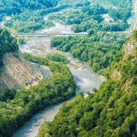 Долина реки Мзымта :: Андрей Володин