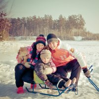 Зимние забавы :: Ольга