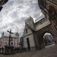 Крепостной дворик, Антверпен... :: АндрЭо ПапандрЭо
