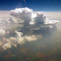 Мощно кучевые облака 1, визуально., :: Alexey YakovLev
