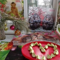 Восемь обезьян и 8 Марта :: Алекс Аро Аро