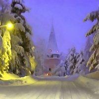 по зимней дороге :: Владимир Беляев ( GusLjar )