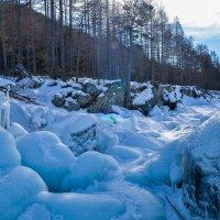 Берег зимнего Байкала :: Сергей Алексеев