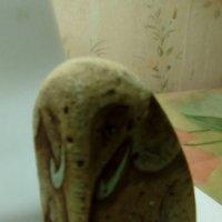 """""""Слон""""(роспись по камню акриловыми красками).Изготовлен питерскими художниками.      худож :: Светлана Калмыкова"""