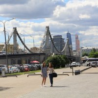 Крымский мост в Москве :: Петр Аксенов