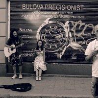 Уличные музыканты во Львове :: Анатолий Горобец (Nazar)
