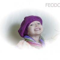 девочка в берете :: Вера Федотова