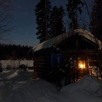 Огонек в ночи :: Nikolay Zinoviev