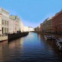 каналы Санкт-Петербурга :: elena manas