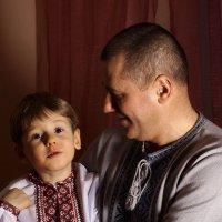 Отец и сын. :: Алексей Ревук