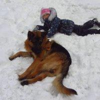 Дети и животные не умеют позировать :: Андрей Лукьянов