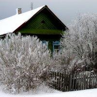 Сельский дом. Февраль. :: Михаил Попов
