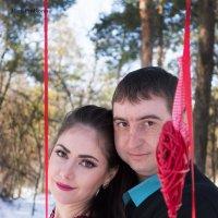 зимняя съемка в фотозоне для двоих :: Мария Прохорова