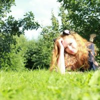 Котенок под солнышком :: Violetta