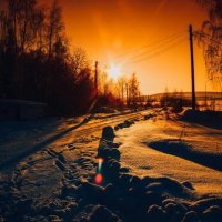 Зимний денёк :: Юлия Доронина