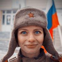 Синие глаза. :: Алексей Хаустов