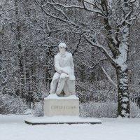 Памятник с. Есенину в Таврическом саду :: Вера Щукина