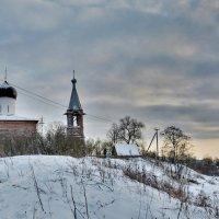 Церковь Рождества Пресвятой Богородицы в Медведевой Пустыни 1547г. :: Анастасия Смирнова