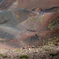 Старые кратеры на склонах вулкана Этна :: Witalij Loewin