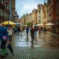 Дождливый день в Гданьске :: Игорь Вишняков