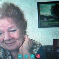 Людмила - моя подруга из Мариуполя. Вот уже 35 лет! :: Нина Корешкова