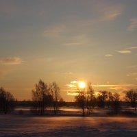 Зимний рассвет :: Mariya laimite