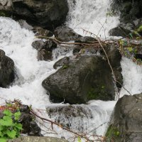 Фрагмент молочного водопада :: Светлана