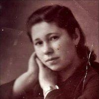 Лидия. 1948 год :: Нина Корешкова