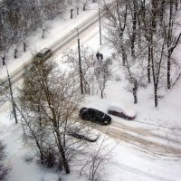 Зимний этюд :: Андрей Столяров