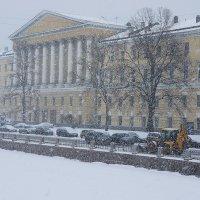 Февральский снегопад :: Елена Павлова (Смолова)