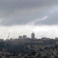 Иерусалим перед бурей :: Anna Sokolovsky