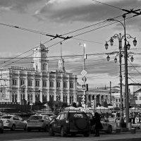 Москва. Ленинградский вокзал. :: Ирина Нафаня