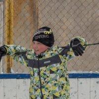 хоккей во дворе :: Наталья Литвинчук