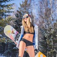 Сноубордистка**** :: Евгений Банных