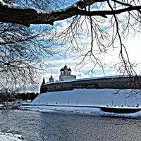 Река Пскова. Кремль. (HDR) :: Fededuard Винтанюк
