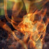 Огонь в мангале :: Ольга Фролова