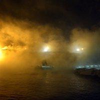По зимнему озеру... :: Витас Бенета