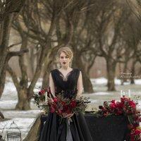 Свадьба в цветах Чёрный&Марсала :: Юлия Лемехова