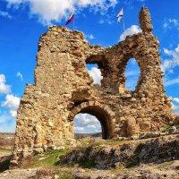 Руины крепости Каламита. Инкерман. Крым :: Павел Дунюшкин