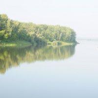 Раннее утро на реке Белой. :: Сергей Тагиров